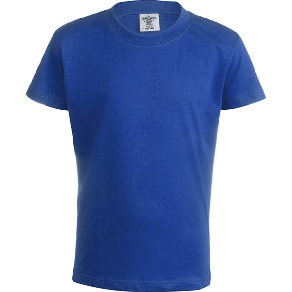 "Camiseta Niño Color ""keya"" YC150 Keya - Azul"