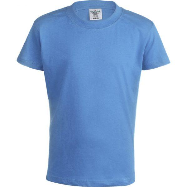 "Camiseta Niño Color ""keya"" YC150 Keya - Azul Claro"