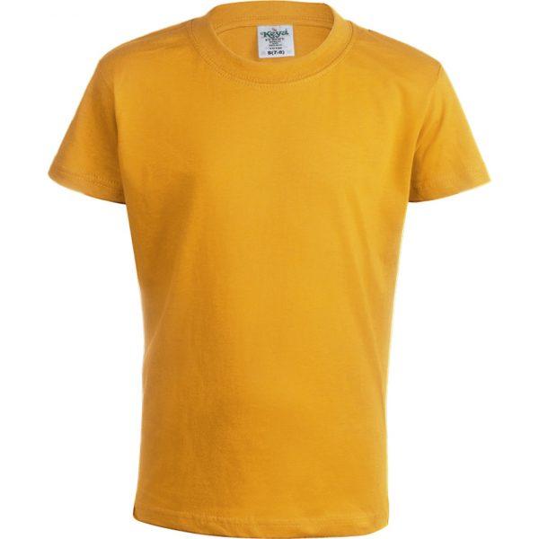 """Camiseta Niño Color """"keya"""" YC150 Keya - Dorado"""