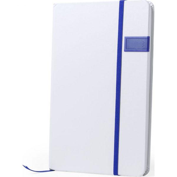 Bloc Notas USB Boltuk Makito - Azul