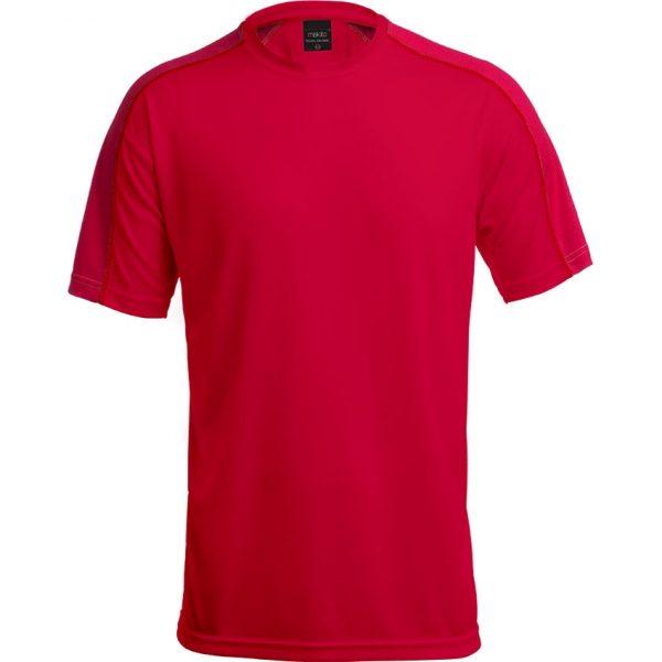 Camiseta Adulto Tecnic Dinamic Makito - Rojo