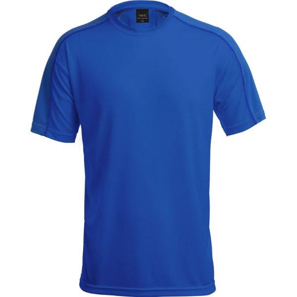 Camiseta Adulto Tecnic Dinamic Makito - Azul