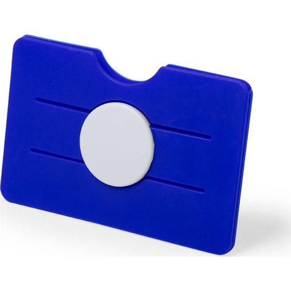 Tarjetero Soporte Tisson Makito - Azul