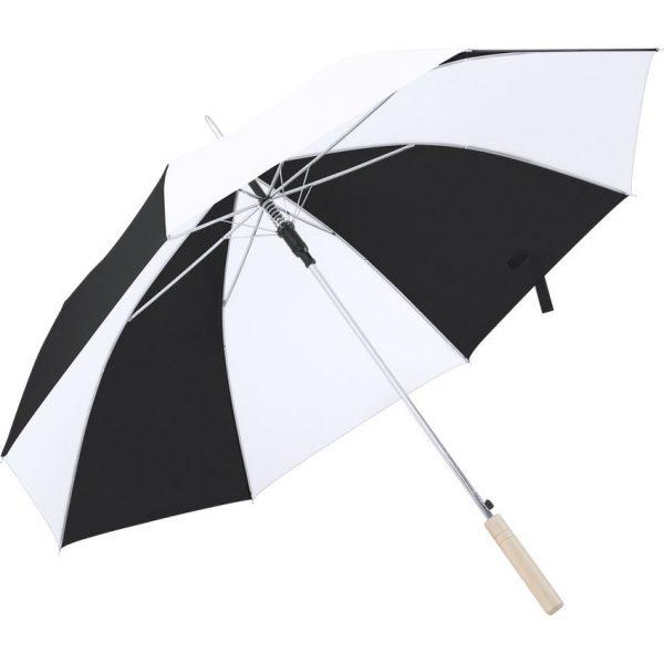 Paraguas Korlet Makito - Blanco / Negro