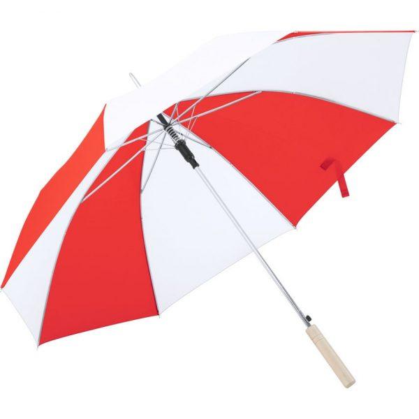 Paraguas Korlet Makito - Blanco / Rojo