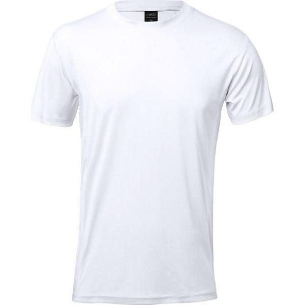 Camiseta Adulto Tecnic Layom Makito - Blanco