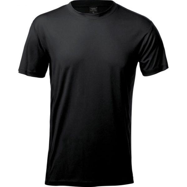 Camiseta Adulto Tecnic Layom Makito - Negro