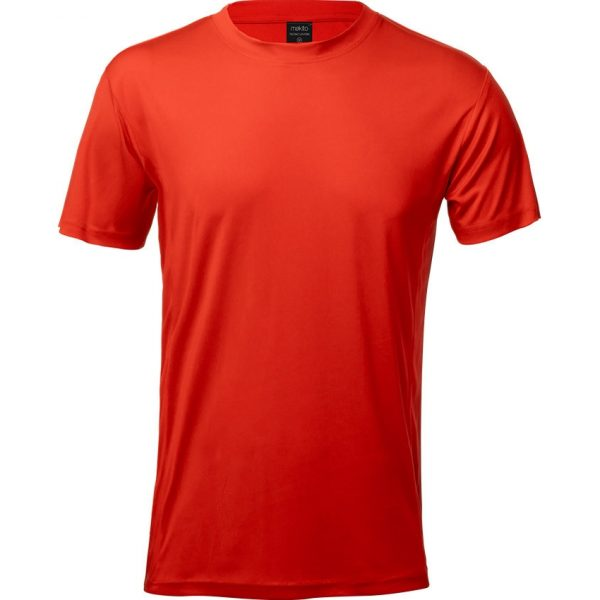 Camiseta Adulto Tecnic Layom Makito - Rojo