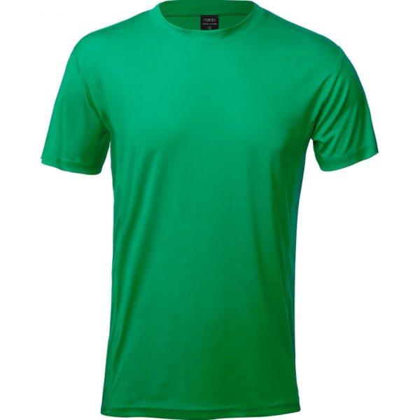 Camiseta Adulto Tecnic Layom Makito - Verde