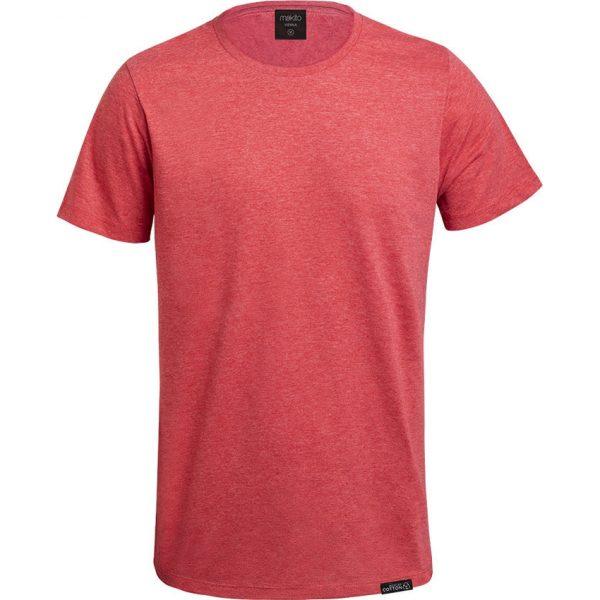 Camiseta Adulto Vienna Makito - Rojo