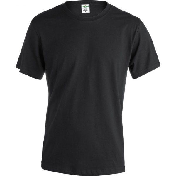 "Camiseta Adulto ""keya"" Organic Color Makito - Negro"
