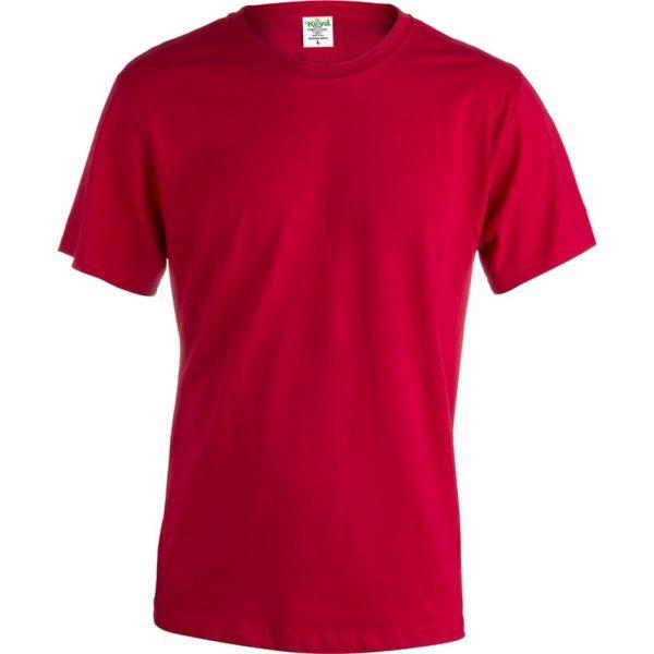 "Camiseta Adulto ""keya"" Organic Color Makito - Rojo"