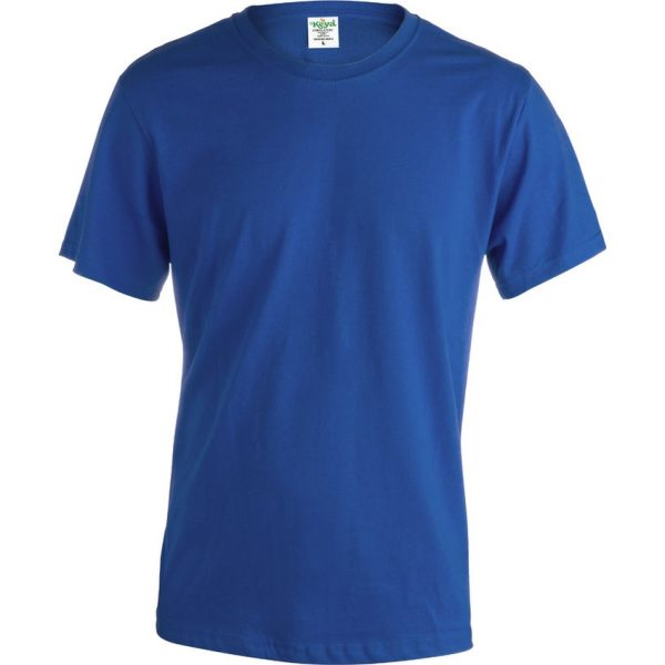 "Camiseta Adulto ""keya"" Organic Color Makito - Azul"