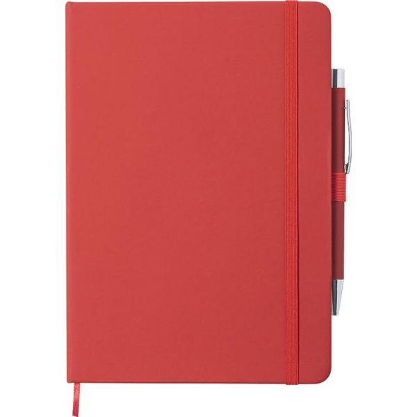 Bloc Notas Robin Makito - Rojo