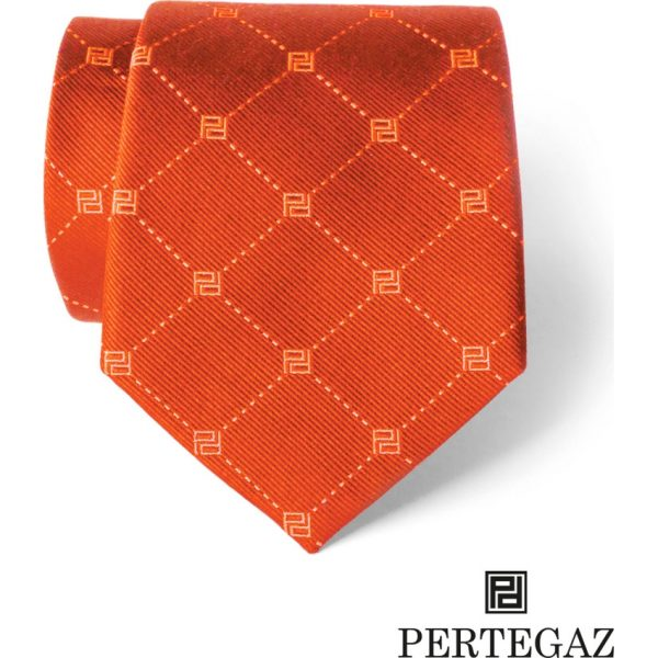 Corbata Brook Pertegaz - Naranja