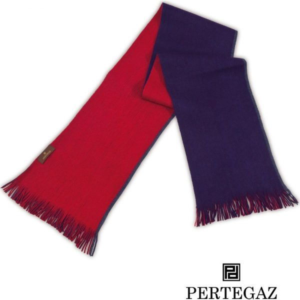 Bufanda Reversible Coty Pertegaz - Rojo