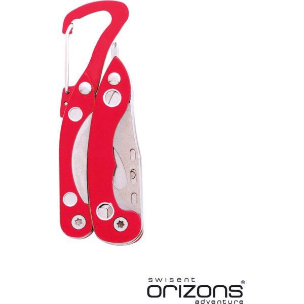 Multiherramienta Borth Orizons - Rojo