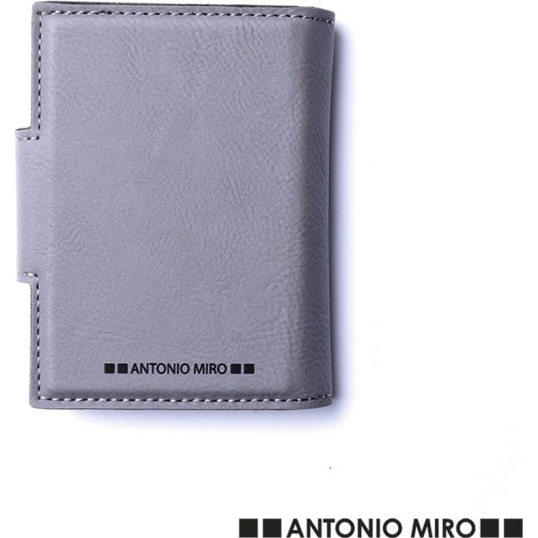 Tarjetero Kunlap Antonio Miró - Gris