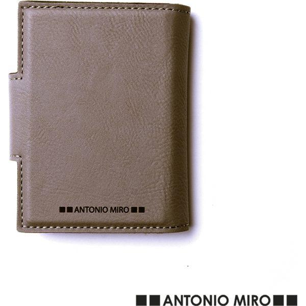 Tarjetero Kunlap Antonio Miró - Marrón Claro