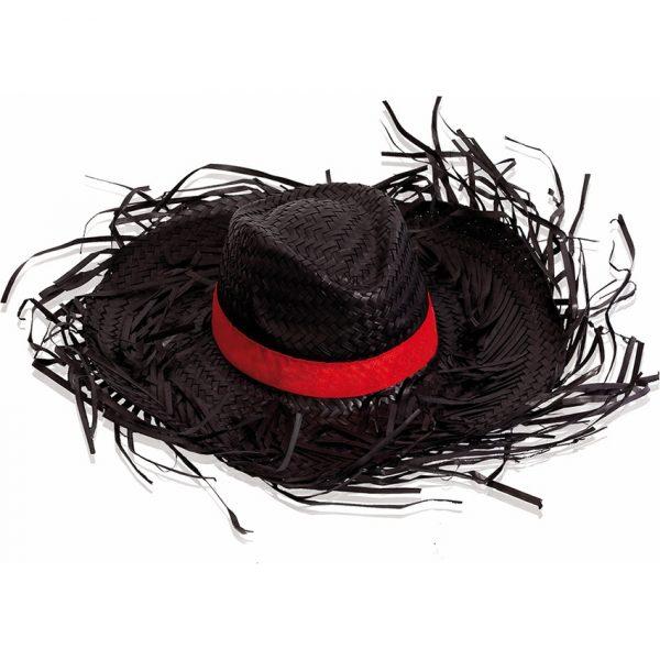 Sombrero Filagarchado Makito - Negro