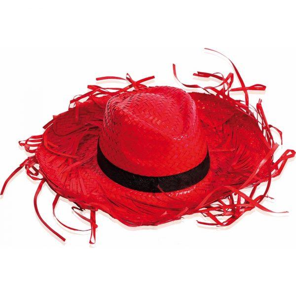 Sombrero Filagarchado Makito - Rojo