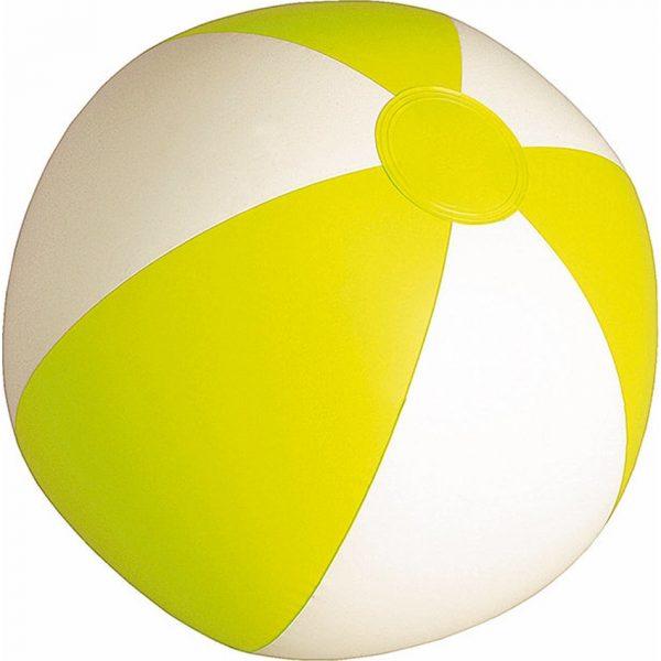 Balón Portobello Makito - Blanco / Amarillo