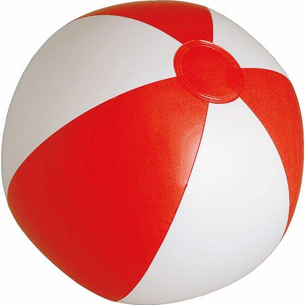Balón Portobello Makito - Blanco / Rojo