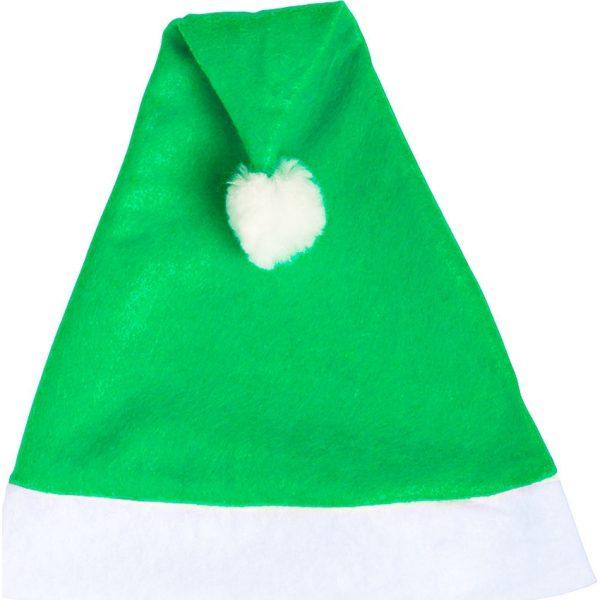 Gorro Papa Noel Makito - Verde