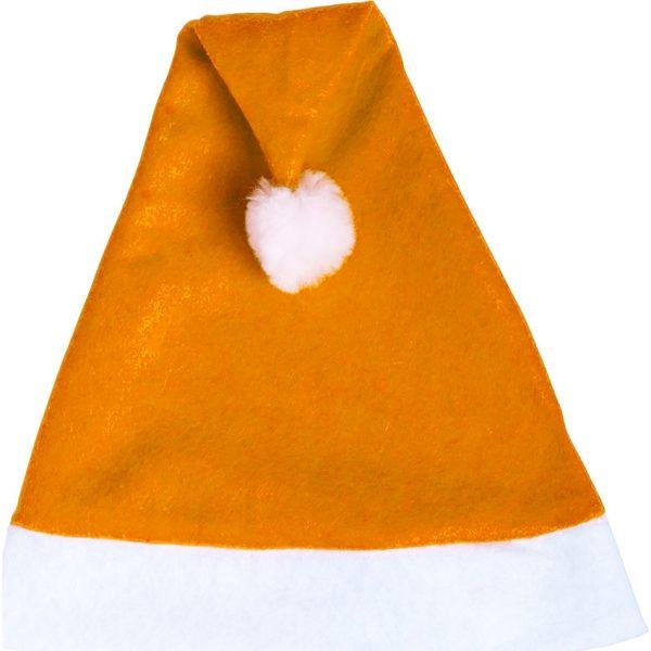 Gorro Papa Noel Makito - Naranja