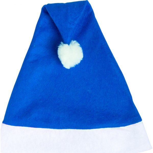 Gorro Papa Noel Makito - Azul
