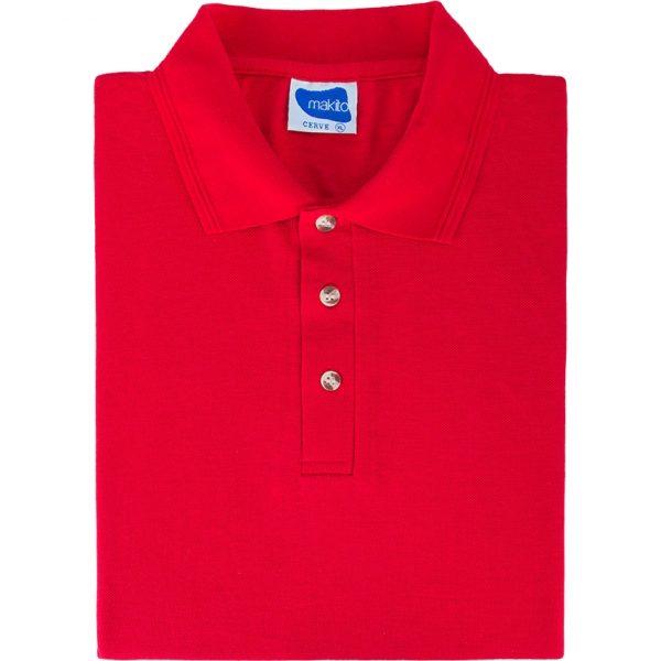 Polo Cerve Makito - Rojo