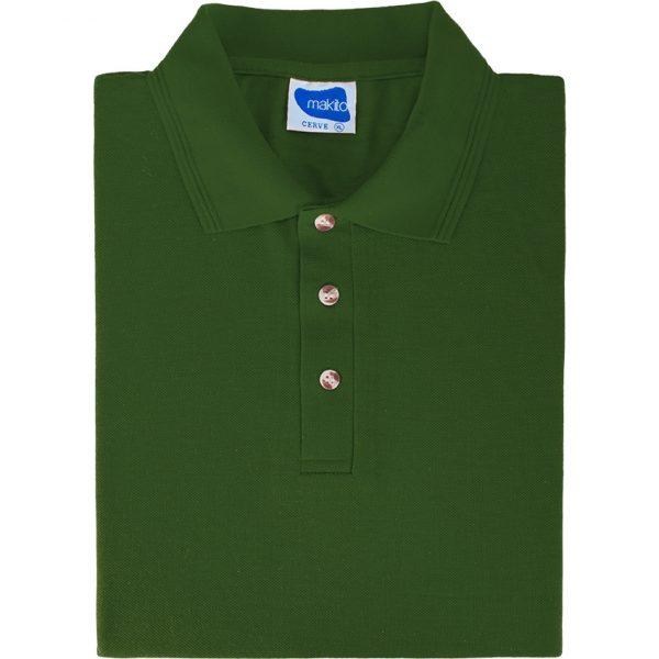 Polo Cerve Makito - Verde