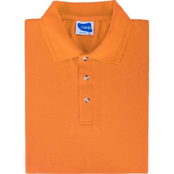 Polo Cerve Makito - Naranja