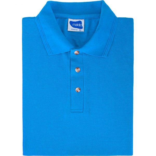 Polo Cerve Makito - Azul Claro
