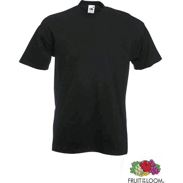 Camiseta Adulto Color Heavy-T Makito - Negro
