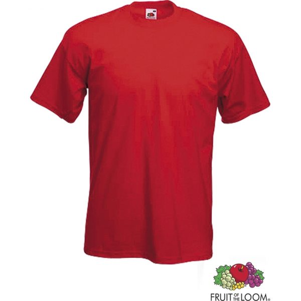 Camiseta Adulto Color Heavy-T Makito - Rojo