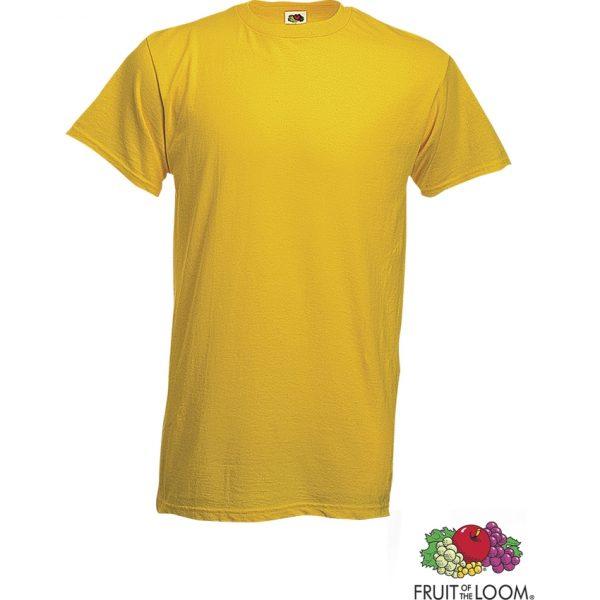 Camiseta Adulto Color Heavy-T Makito - Amarillo