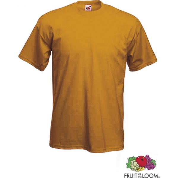 Camiseta Adulto Color Heavy-T Makito - Naranja