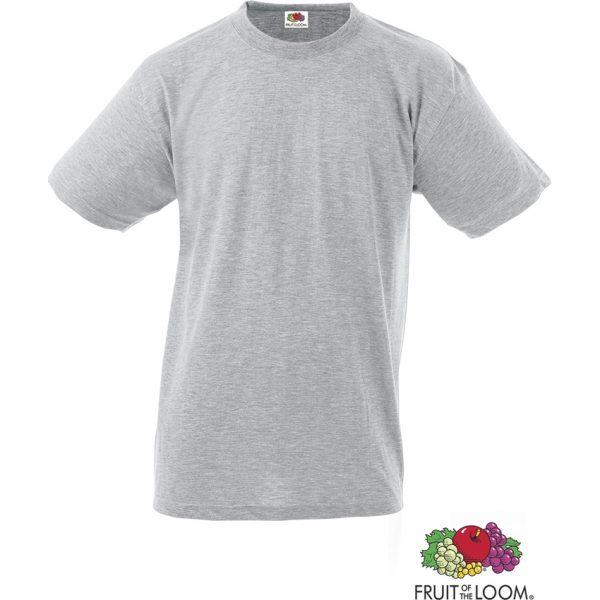 Camiseta Adulto Color Heavy-T Makito - Gris