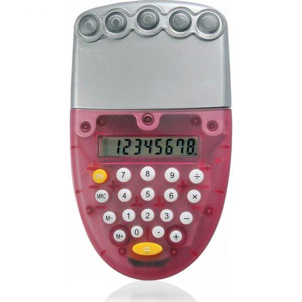 Calculadora Ozone Makito - Rojo