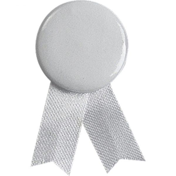 Pin Lazo Solidario Makito - Blanco
