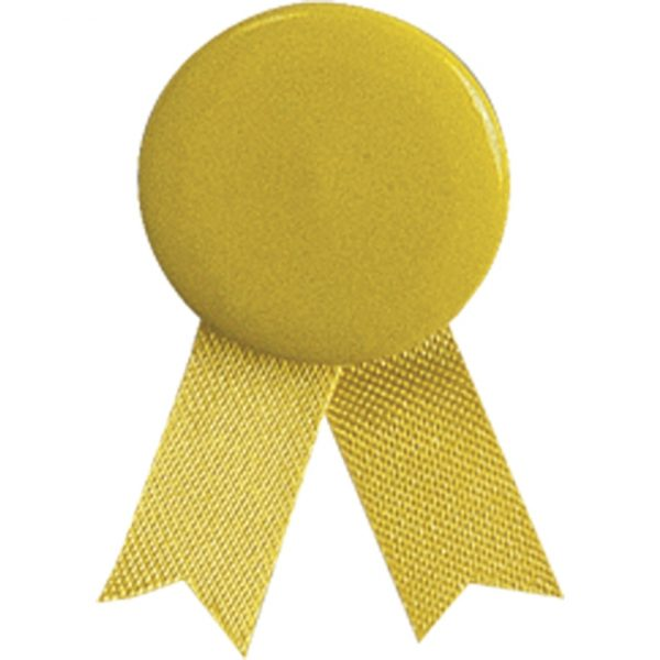 Pin Lazo Solidario Makito - Amarillo