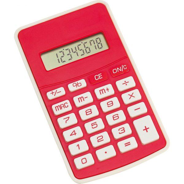 Calculadora Result Makito - Rojo