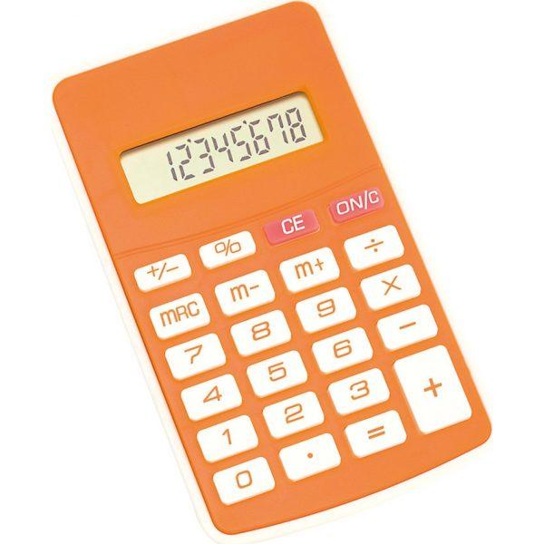 Calculadora Result Makito - Naranja