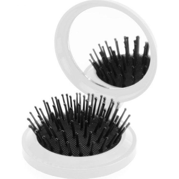 Cepillo con Espejo Glance Makito - Blanco