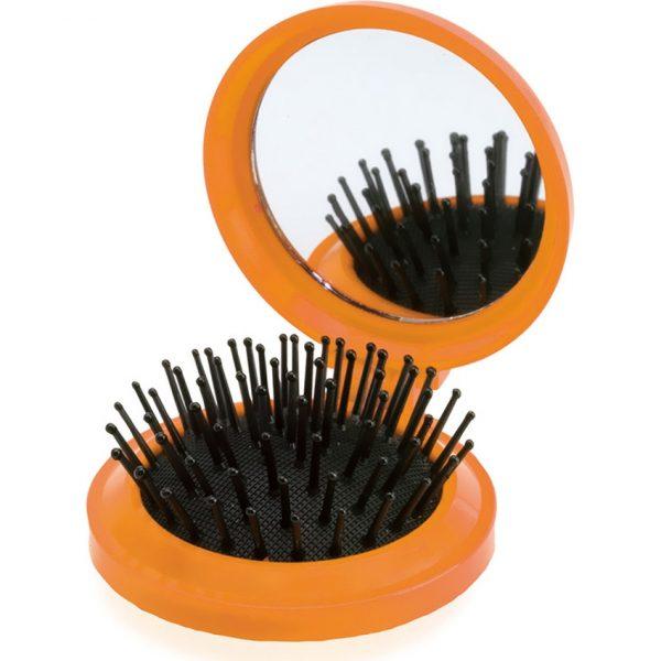 Cepillo con Espejo Glance Makito - Naranja