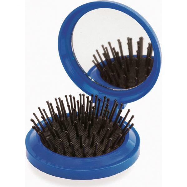 Cepillo con Espejo Glance Makito - Azul