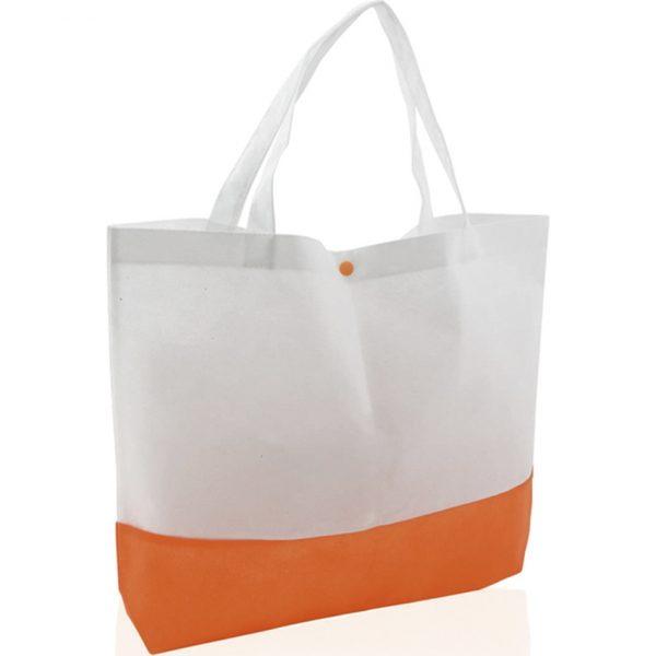 Bolsa Bagster Makito - Blanco / Naranja