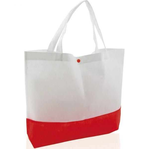Bolsa Bagster Makito - Blanco / Rojo