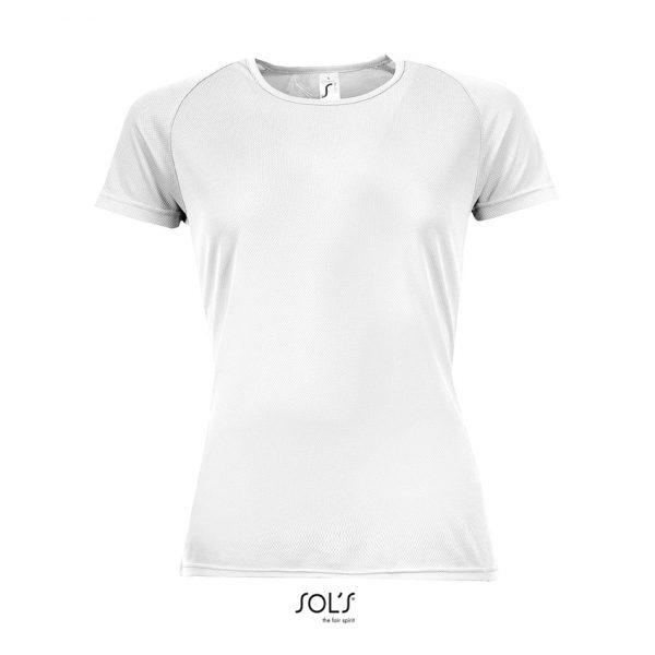 Camiseta Sporty Women Mujer Sols - Blanco
